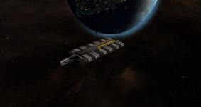 Council & Cerberus Cargoship: Rebellion
