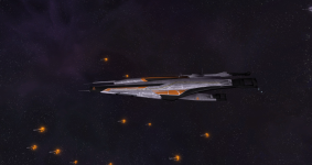 Systems Alliance Frigate: Rebellion