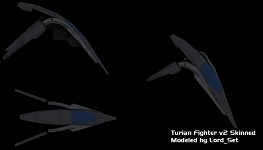 Turian Fighter V2 skinned