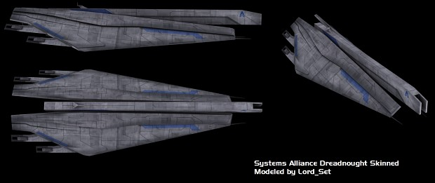Alliance Everest Class Dreadnought Skinned