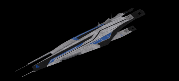 Systems Alliance Heavy Frigate: Skinned