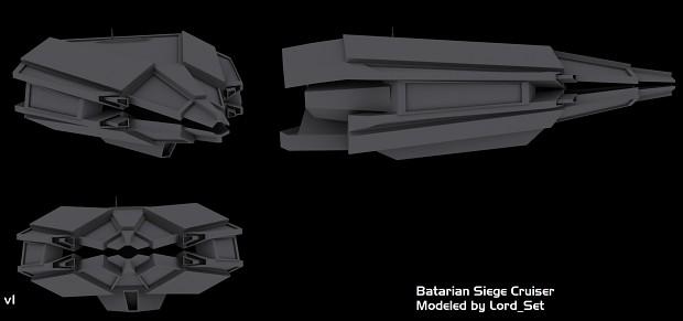 Batarian Siege Cruiser