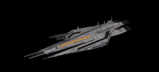 Cerberus Cruiser V5: Skinned
