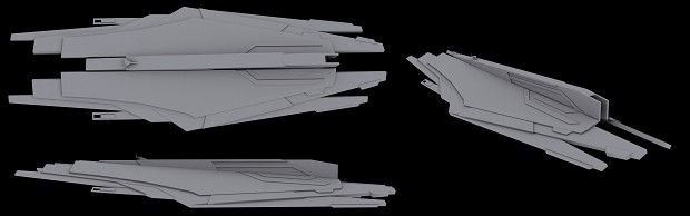 Cerberus Siege Battleship: WIP