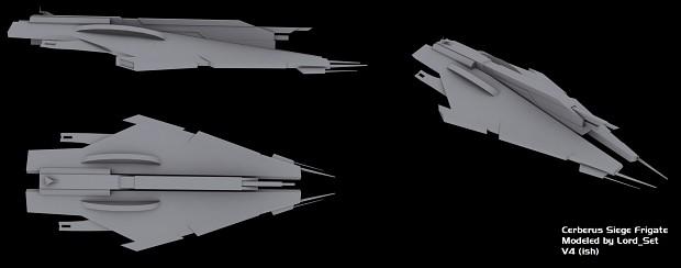 Cerberus Siege Frigate: V4