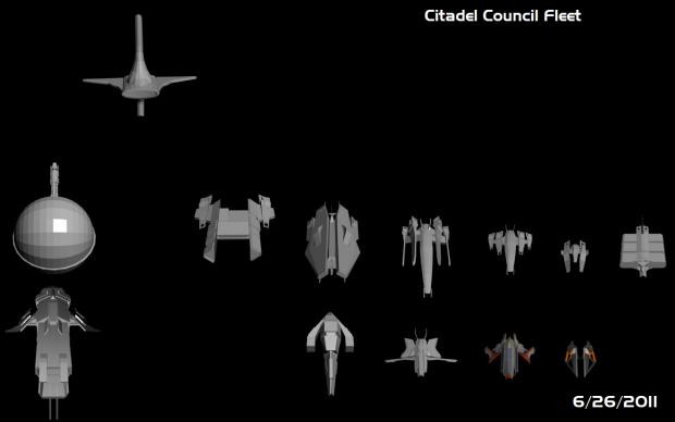 Citadel Council Fleet