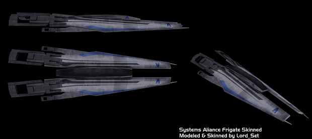 Systems Alliance Frigate Skinned