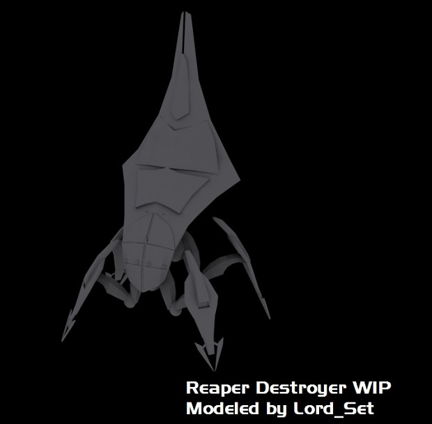 Reaper Destroyer WIP