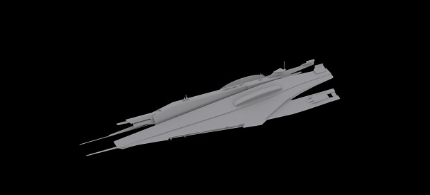 Systems Alliance Cruiser: V5 Finished