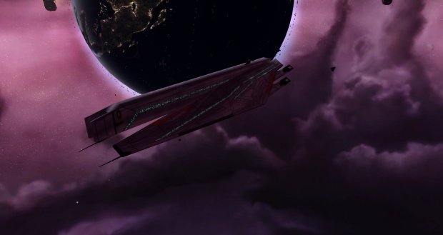 Cerberus Command Ship: Rebellion