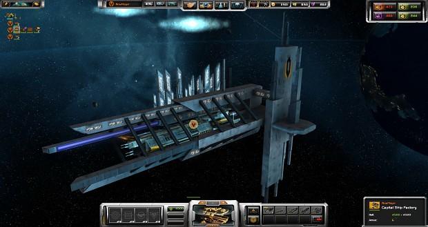 Dreadnought in Dock