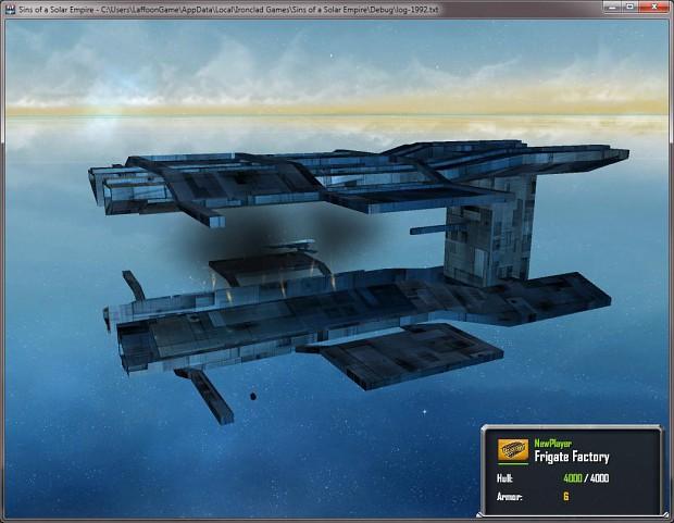 Frigate Shipyard ingame