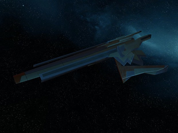 Turian Frigate In Game