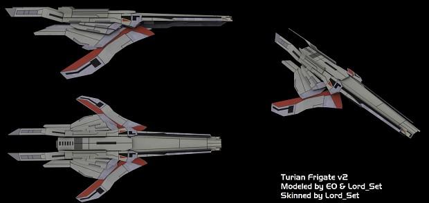 Turian Frigate V2 Skinned