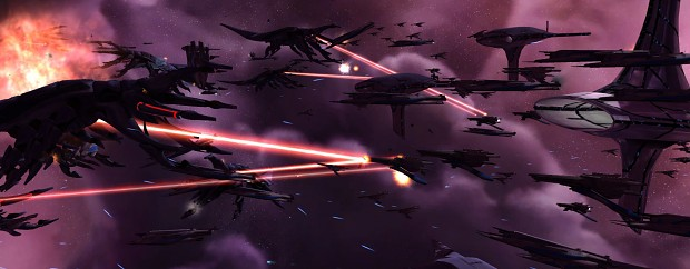 Reapers battle Citadel forces