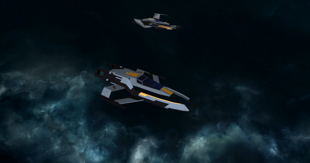 Cerberus Interceptor and Fighter reskin