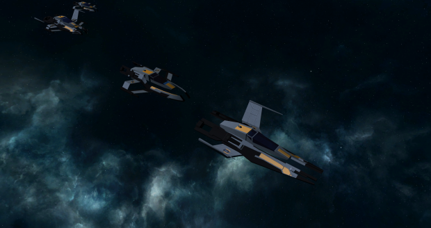 Cerberus Interceptor and Fighter reskin