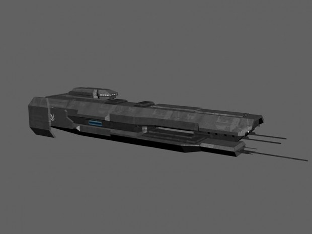 halo 4 charon class frigate WIP