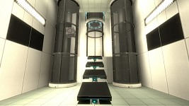 Mount Aperture - Inter-Chamber Transportation Room