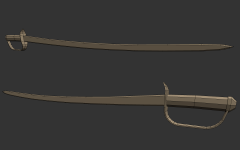 Sabre Sword Created By Chompster