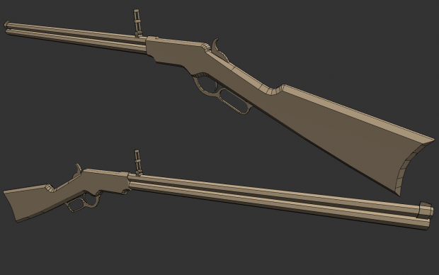 finished Henry Rifle