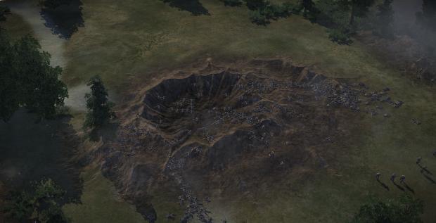 Mine Crater