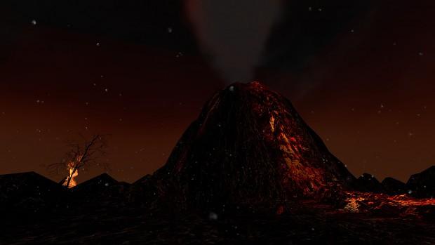 The Volcano - WiP