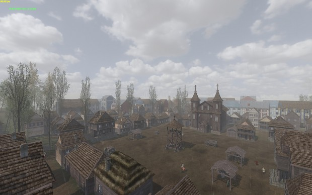 Visually expanded towns