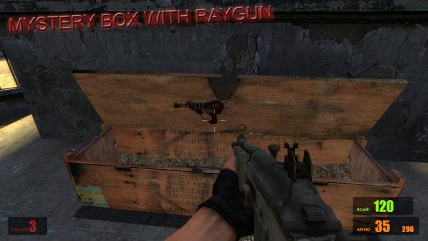 Mystery Box & Raygun