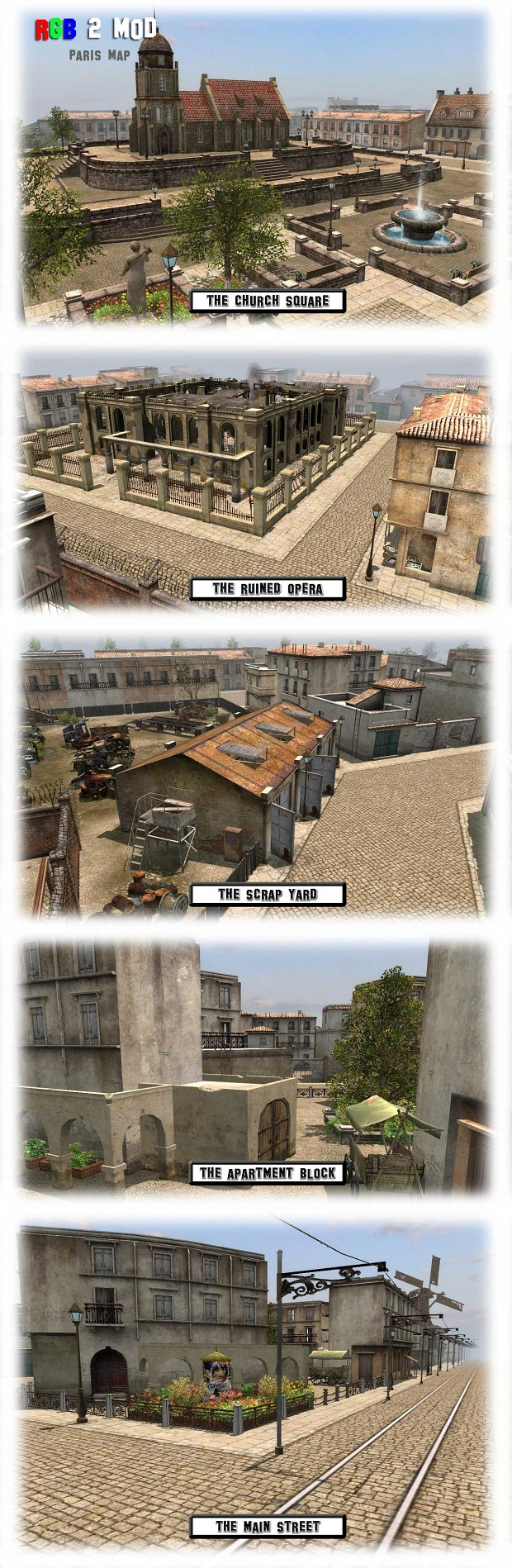 RGB2 Mod Paris Level