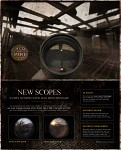 New scope reticle designs