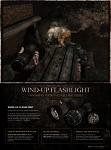 Wind-up flashlight