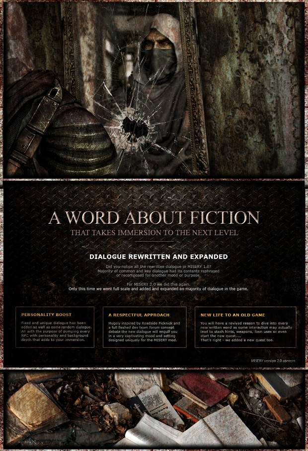 A word about Fiction