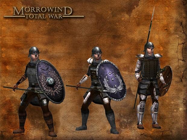 Light Spearmen Legionaries
