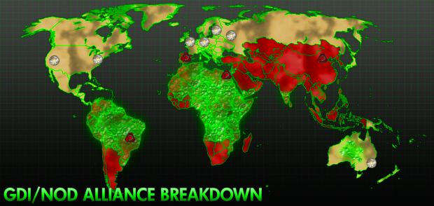GDI/Nod Alliance Breakdown