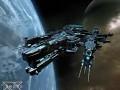 Black hole pirate heavy capital ship