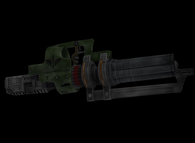 Assault Cannon Renders