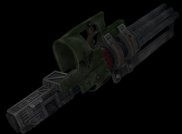 Assault Cannon Renders image - DEATHWING mod for Left 4 Dead 2 - Mod DB