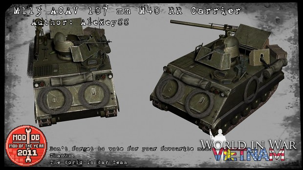 M113 ACAV w/M40 Recoilless rifle