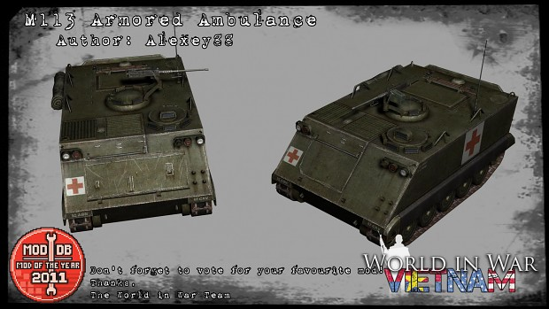M113 Armored Ambulance