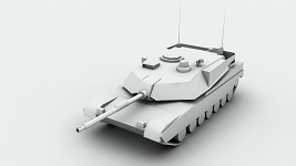 New and Improved M1A2 Abrams Model