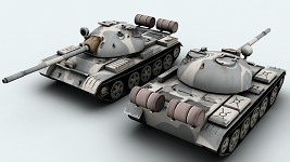 T-55 New and Improved Model and Skin