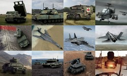 NATO Vehicle and Aircraft Cameos