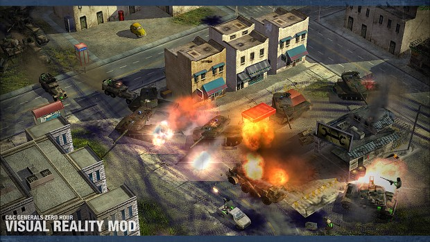 In-Game Screenshot : USA (NATO) vs GLA