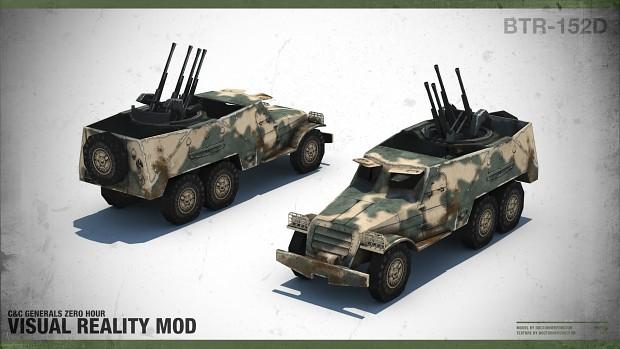 """BTR-152D """"Quad Cannon"""""""