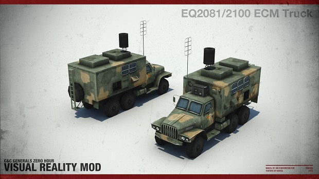 EQ2081/2100 ECM Truck