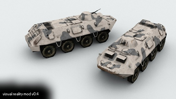 BTR-60 with vestigial turret