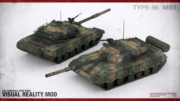 Type-96 Main Battle Tank