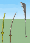 Golden dragon hordes Weapons