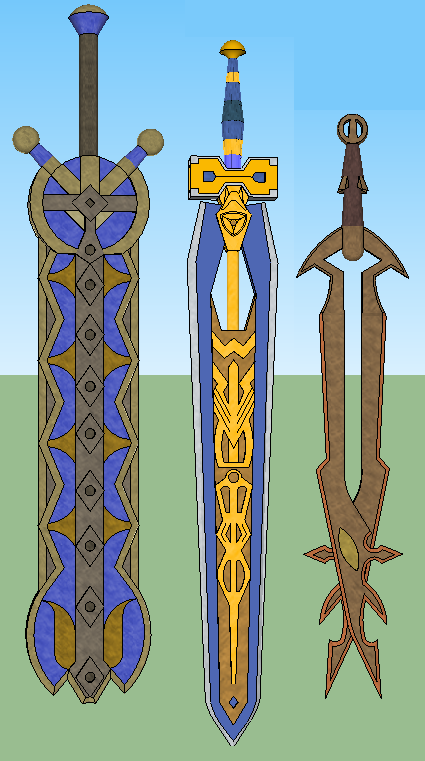 Some asgard weapons